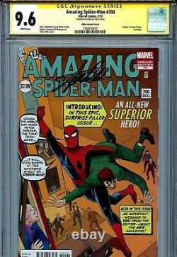 Incroyable Spider-man 700 Cgc 9.6 Ss Ditko Couverture Stan Lee Docteur Supérieur Octopus
