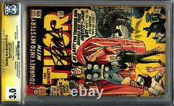 Journey Into Mystery 113 Cgc 3.0 Ss Origine De La Série Signature Loki Stan Lee