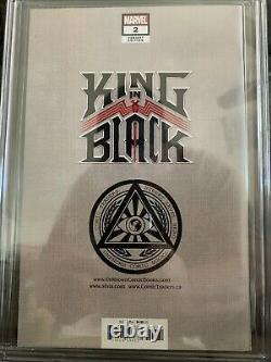 King In Black 2 Série De Signatures Cgc 9.8 Kirkham Virgin Cover