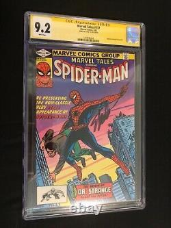 Marvel Tales #137 Spider-man Autographié Stan Lee Cgc Signature Series