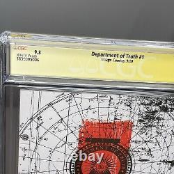 Ministère De La Vérité #1 1ère Imprimer 2020 Image 9.8 Série Signature De La Ccg Tynion