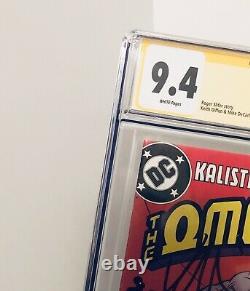 Omega Men 3 Cgc 9.4 Signature Série 1er Apparence Lobo Signé Par Keith Giffen
