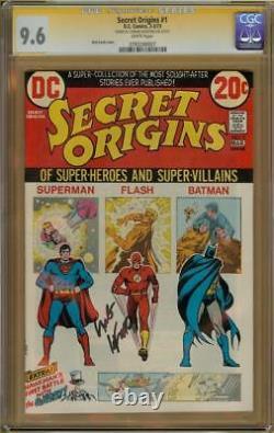 Origines Secrètes #1 Cgc 9,6 Série De Signatures Signées Carmine Infantino #0783268007