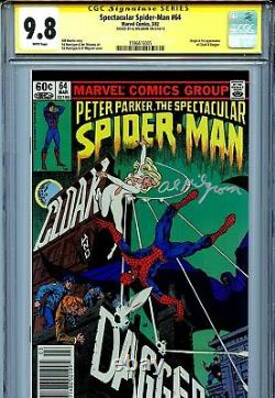 Peter Parker The Spectacular Spider-man Vol 1 64 Cgc 9,8 Ss 1st Cloak And Dagger