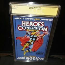 Programme Heroes Con 37 Cgc Signature Series 9.8 Sergio Aragones Stan Sakai 2019