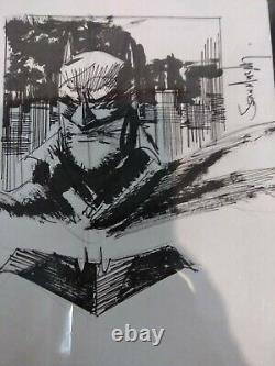 Sean Gordon Murphy Art Original Batman White Knight Sketch Cgc Signature Series