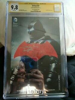 Série De Signatures De La Ccg Batman #50 Signé Par Ben Affleck 9,8