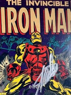 Signé Stan Lee Iron Man #1 (1re Édition 1968) Cgc 6.0 Série De Signatures Ss Première
