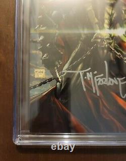 Spawn #300 Cgc Signature Series 9.8 Virgin Cover L Signé Par Todd Mcfarlane
