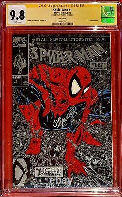 Spider-man #1 Cgc Signature Series 9.8 Silver Edition USA Jim Salicrup