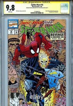 Spider-man Vol 1 18 Cgc 9.8 Ss X2 Stan Lee Larsen Ghost Rider Hobboblin Doc Ock