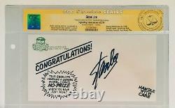 Stan Lee Signé Original Marvel No-prize Envelope Cgc Signature Series