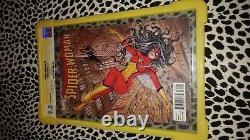 Stan Lee Signé Spiderwoman #1 Variante 9,8 Cgc Ss Série Signature Marvel Comic
