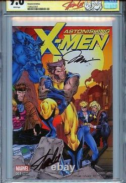 Stupéfiant X-men Vol 4 1 Cgc 9,6 Ss X2 Couverture Remasterisée Stan Lee Jim Wolverine
