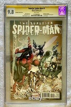Superior Spider-man #1 Signé Par Stan Lee Cgc Signature Series 9,8 Nm