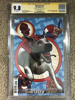 Superman #14 Yotv Rappel Variante Cgc 9.8 Série Signature Adam Hughes