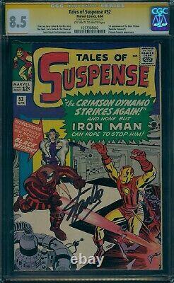 Tales Of Suspense 52 Cgc 8.5 1st Black Widow Stan Lee Signature Series