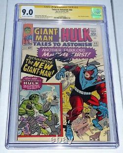 Tales To Astonish #65 Cgc Signature Series Autographe Stan Lee New Giant-man