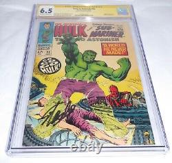 Tales To Astonish #95 High Evolutionary Cgc Signature Series Autograph Stan Lee