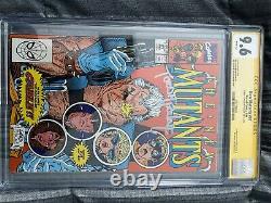 The New Mutants #87 (mars 1990, Marvel) Cgc 9.6 Série Signature. Signé Par Todd