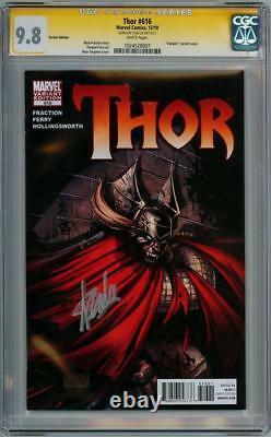 Thor #616 Variante De Vampire Cgc 9.8 Série De Signatures Signée Stan Lee Film