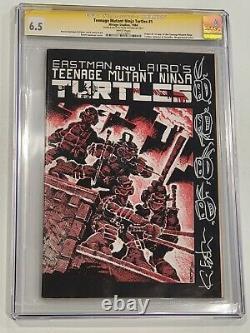 Tortues Ninja Mutantes Pour Adolescents #1 Cgc 6.5 Série De Signatures 1ère Impression 1ère Tmnt 1984