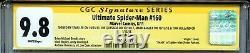Ultimate Spider-man 160 Cgc 9.8 Ss X4 Croquis Stan Lee Bagley Quesada Holland