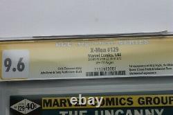 Uncanny X-men #129 Nm+ 9,6 (marvel) Série De Signatures De La Ccg Stan Lee Cas Cracked