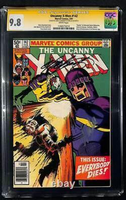 Uncanny X-men #142 Cgc 9.8 Série Signature Signée Par Chris Claremont Et Stan Lee