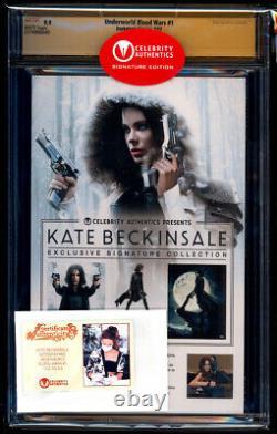 Underworld Blood Wars #1 Ss Cgc 9,9 Kate Beckinsale Signature Series Pas 9,8