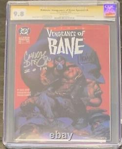 Vengeance De Bane 1ère Apparition De Bane Cgc 9.8 Série Signature Dixon & Nolan