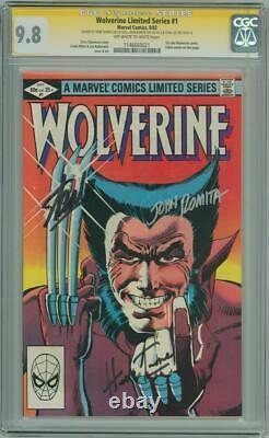 Wolverine #1 1982 Cgc 9.8 Signature Series Signed X3 Stan Lee John Romita Trimpe