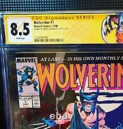Wolverine 1 Marvel Comics 1988 Cgc 8.5 Série Signature Signée Par Claremont