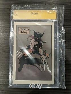 Wolverine #10 Cgc Ss Signature Series Signé Par Chris Claremont 9.8