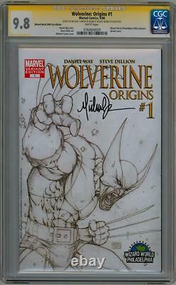 Wolverine Origins #1 Cgc 9,8 Ww Variante Signature Série Signée Michael Turner