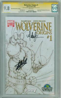 Wolverine Origins #1 Ww Cgc 9.8 Série Signature Signée Stan Lee Michael Turner