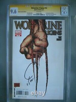 Wolverine Origins #10 3ème Claw Variant Cgc 9.6 Ss Signé Joe Quesada 1er Daken