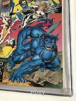 X-men #1 Cgc 9.8 Pages Blanches Série Signature Ss Signé Jim Lee 1991 Marvel