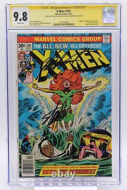 X-men # 101 Cgc 9.8 Origine Et 1ère Apparition De Phoenix Signé Par Stan Lee