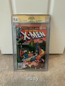 X-men 115 Série De Signatures De La Ccg 9.6 Signé Par Chris Claremont