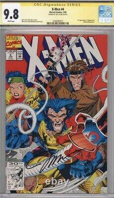 X-men #4 Cgc 9,8 1ère Série De Signatures Omega Red Ss Signée Par Jim Lee