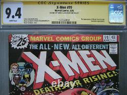 X-men #99 Cgc 9.4 Ss Signé Chris Claremont 1er Noir Tom Cassidy