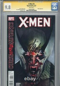 X-men Vol 3 4 Cgc 9,8 Ss Granov Variante Stan Lee Wolverine Blade Dracula Jubilé